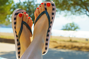 Think Twice About Flip-Flops This Summer